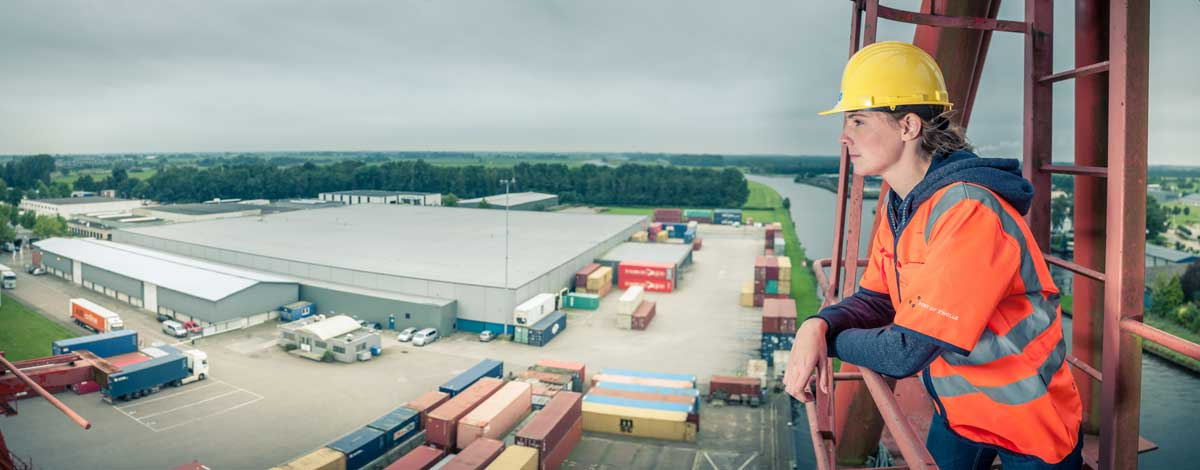Port of Zwolle kleding shoot
